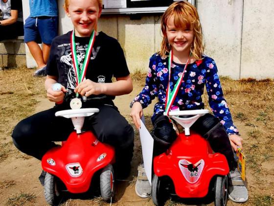 Zieselsmaar Bobbycarrennen der Kinder