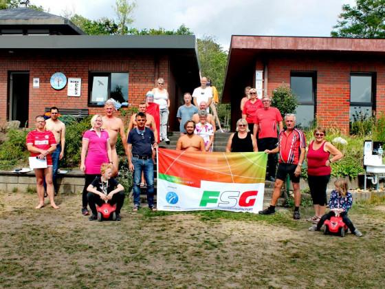Gruppenfoto Triathlon 2020